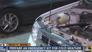 How to prepare an emergency cold weather kit