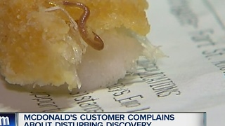 McDonald's customer complains about disturbing discovery - Video