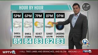 Monday weather update - Video