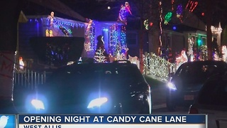 Candy Cane Lane opens for the season - Video