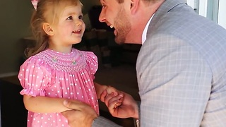 Dad takes his daughter on 'The Best First Date' - Video