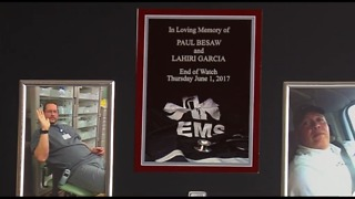 Paramedics honored at medical center - Video