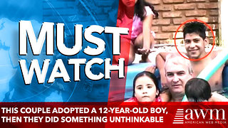 This Couple Adopted A 12-Year-Old Boy, They Did Something Unthinkable! - Video