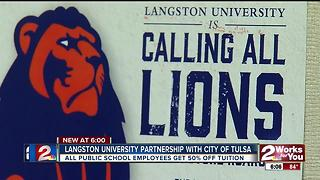 Langston University partner with City of Tulsa - Video