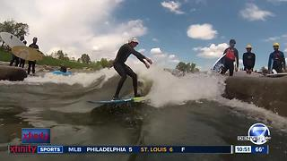 River Surfing on the South Platte in Colorado - Video