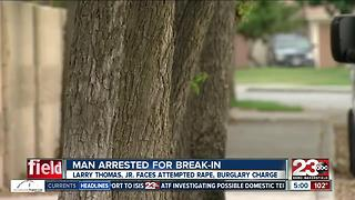 Man Arrested for Break-In - Video