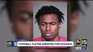 Gilbert PD: Alabama A&M Football prospect arrested for stalking - Video