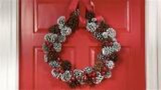 3 Cheap Christmas Wreath Ideas - Video