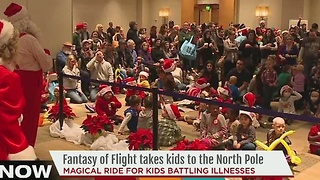 Fantasy of Flight takes kids to the North Pole