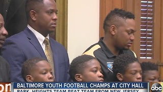 Park Heights Secret Society Saints win national championship of youth football - Video