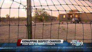 PCSD: Kidnapping suspect in Marana facing 15 charges - Video