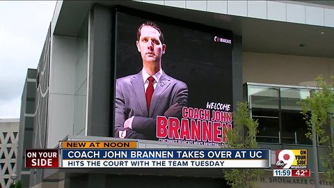 It's official: Coach John Brannen takes over at UC