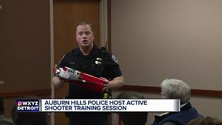 Auburn Hills police advise taking action in an active shooter situation