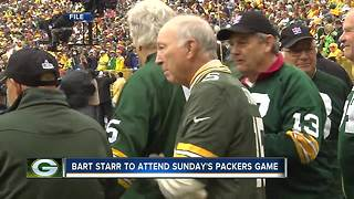 Bart Starr to come to Packers-Saints game Sunday - Video