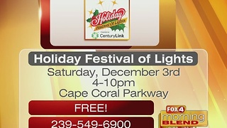 Holiday Festival of Lights Chamber of Commerce Kiwanis 12/1/16