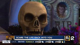 Local funeral home scares the life into you - Video