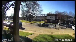 Doorbell video shows man shooting at woman in Sterling Heights