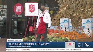 The volunteers behind the Salvation Army