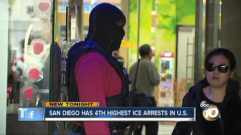 San Diego ranks 4th in U.S. in ICE arrest rate