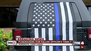 Hundreds fundraise for Fort Myers Officer that passed - Video