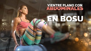 Vientre plano con abdominales en bosu. - Video