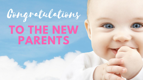 Congratulations To The New Parents - Greeting 1