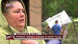 Homeowner distraught after storm damage