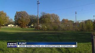 More bones found in Flint park as investigation continues - Video