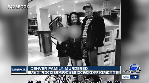 Father, mother and daughter killed in Denver shooting, police say; suspect in custody