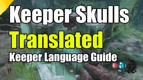 "Black Ops 3 Zetsubou No Shima Keeper Language Translated on Skulls ""Nan Sapwe Keeper code"""