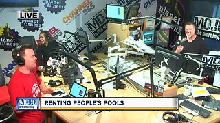 Mojo in the Morning: Renting people's pool