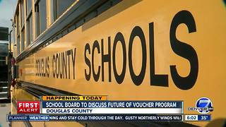School board to discuss future of Douglas County's voucher program - Video