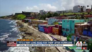 KC woman travels to Puerto Rico to help - Video