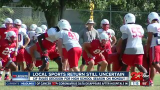 Bakersfield College and local high schools sports return still uncertain
