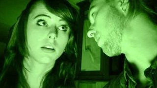 Guy Takes Girl on First Date to Haunted House - Video