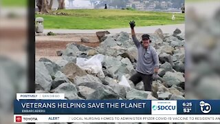 Local military veteran helping save the planet
