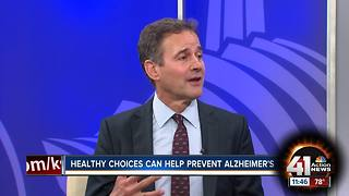 Healthy choices can help prevent Alzheimer's