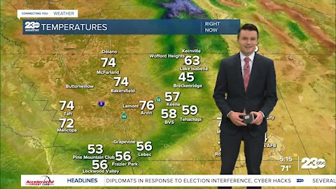 23ABC Evening weather update April 15, 2021