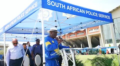 SOUTH AFRICA - Durban - Safer City operation launch (Videos) (9MW)