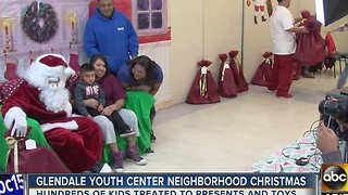 Christmas comes early for Glendale kids - Video