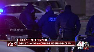 Man killed in shooting at Independence Center - Video