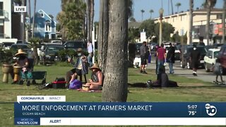 More enforcement at Ocean Beach farmers market