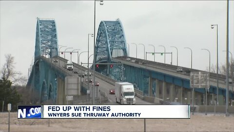 Fed up with fines: Western New Yorkers sue Thruway Authority over cashless tolls