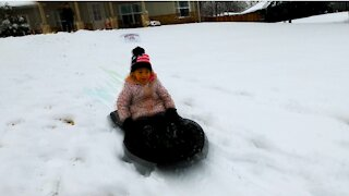 Best Sled Ever ~ sO FaSt and Slick! Adults & Kids! RYDR