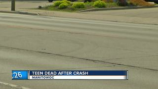 Teen dead in Manitowoc Crash - Video
