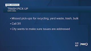 Cape Coral asking for public input on trash pick-up issues