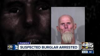 Suspected Valley burglar arrested after targeting two homes - Video