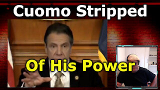 Governor Cuomo to be Stripped of Emergency Powers