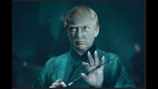 FACEBOOK MAKES TRUMP INTO VOLDEMORT!