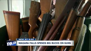 Niagara Falls spent big money for your guns - Video